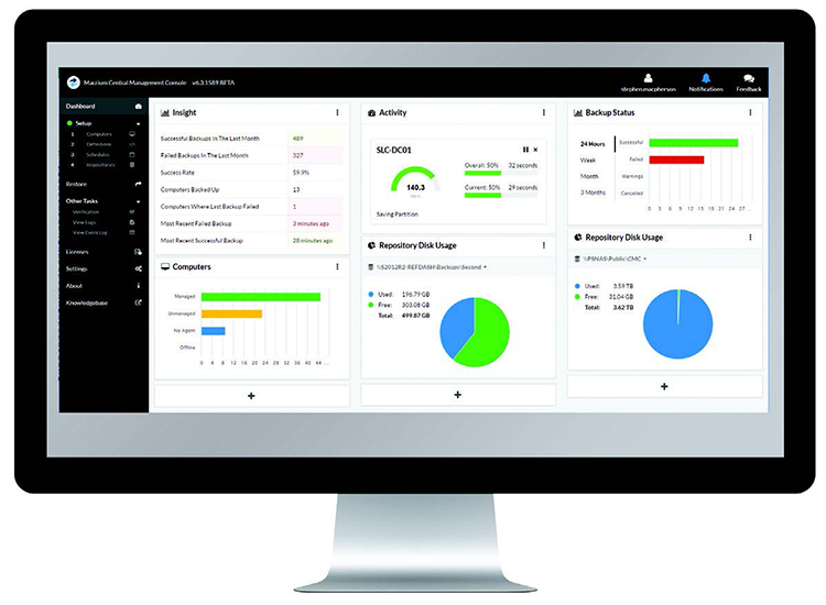 Macrium Central Management Console
